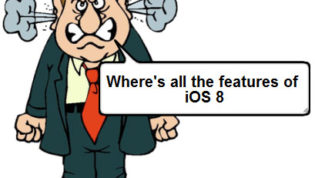 Where is all iOS 8 features