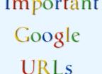 Important Google URLs