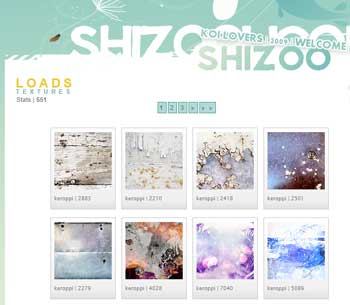 Shizoo Textures