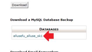 Download SQL Database