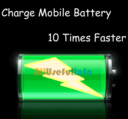 Faster charge battery