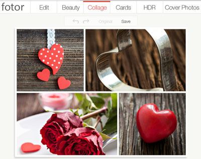 Fotor - Make Photo Collage Online
