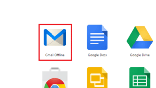 Launch Gmail Offline