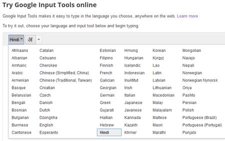 Try Google Input Tool