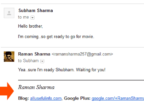 My email signature in Gmail looks like this
