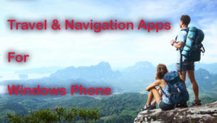 Travel and Navigation apps