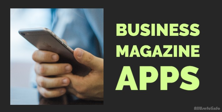 Business magazine apps for iPhone
