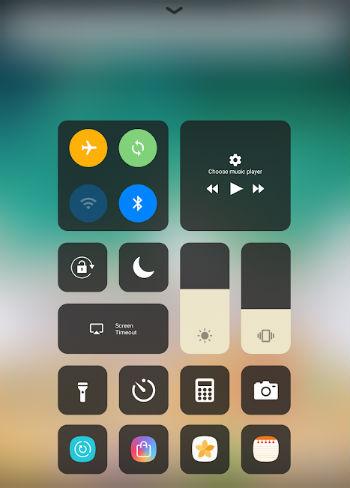 Control Center iOS 13 App