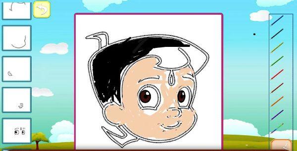 Draw and Color Chhota Bheem