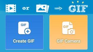 Make GIF using Android camera