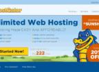 HostGator homepage after migration