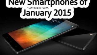 Smartphones in January 2015