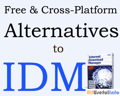 Alternatives to IDM