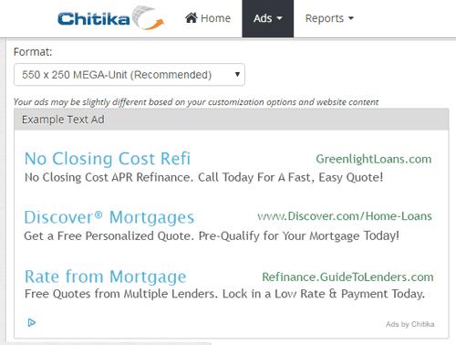 Chitika Ads