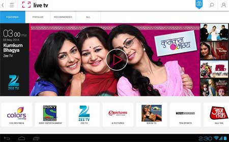 Watch Indian TV Shows Live on Your Android, iPhone & Windows