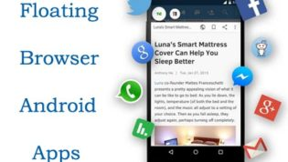 Floating Browser Android Apps