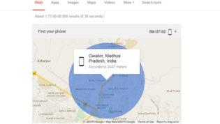 Find Phone on Google