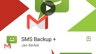 Install SMS Backup+ App