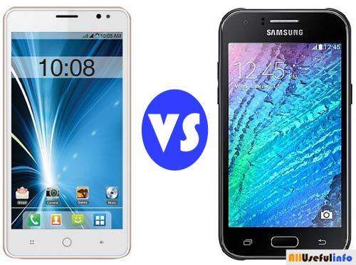 Intex Aqua Star L VS Samsung Galaxy J1