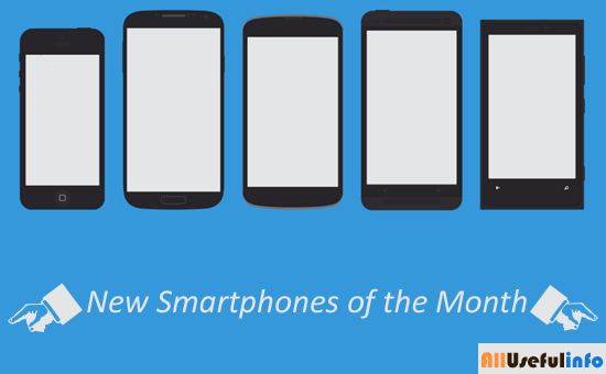 New Smartphones of the Month