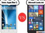 Intex Aqua Star L Vs Lumia 535