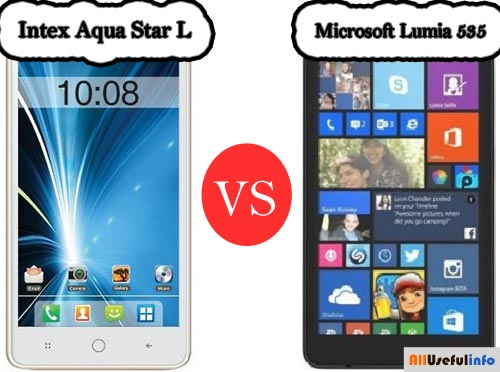 Intex Aqua Star L Vs Lumia 535