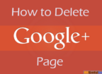 Delete a Google Plus Page