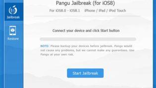 Jailbreak iPhone with PanGu