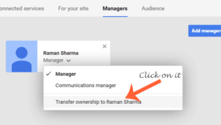Transfer the Ownership of G+ Page