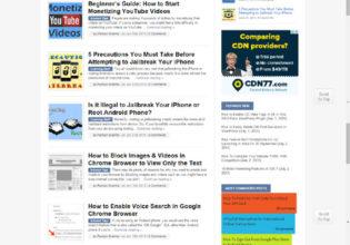 AUI Homepage Screenshot