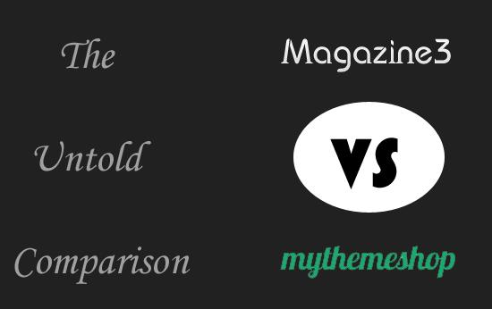 Magazine3 VS MyThemShop
