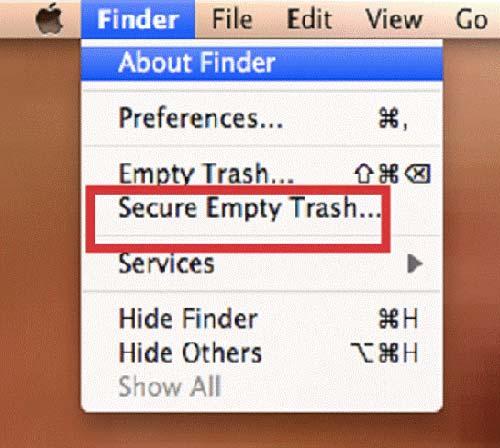 Empty Trash Box