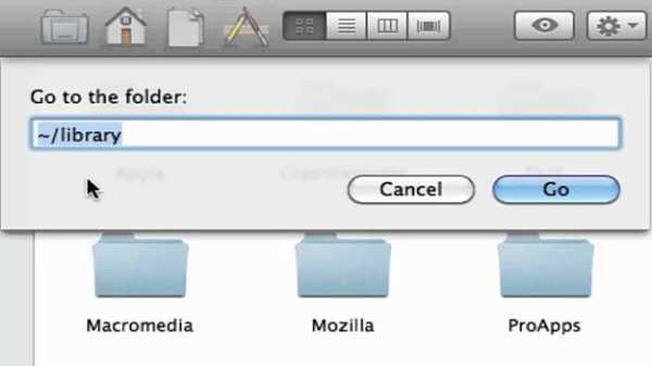 Search program name in Mac