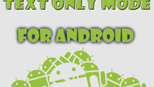 Text Mode in Android