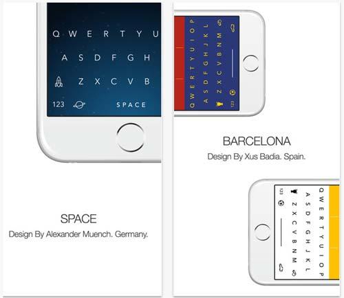 Themeboard iPhone Keyboard