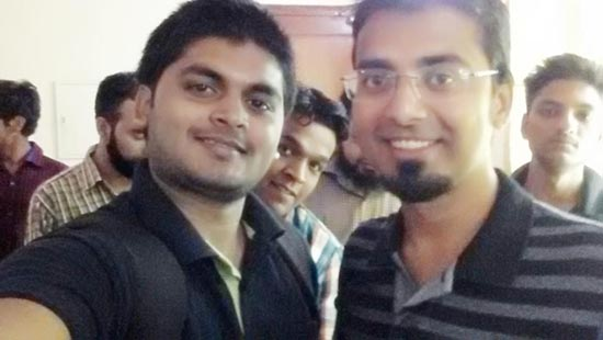 Selfie with Harsh Agrawal