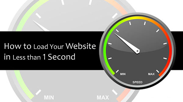 Increase Website Loading Speed