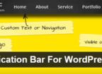 Sticky Notification Bar Plugin
