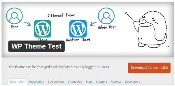 WP Theme Test Plugin