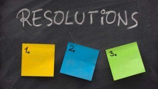New Year Blogging Resolutions