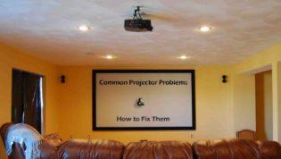 Fix Projector Problems