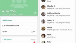 Whatsapp New Group Limit