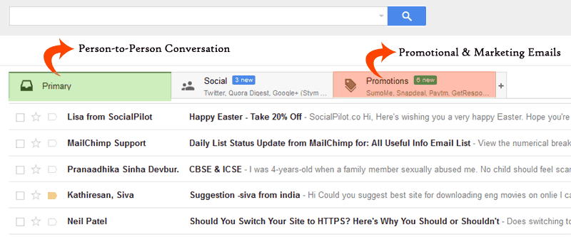 Alvomedia-don't let your email get into the promotions tab of Gmail where it is never read