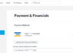 Remove Credit Card From Freelancer.com