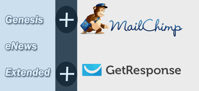Genesis eNews Extended with Mailchimp and Getresponse