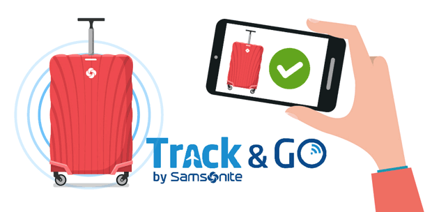 Samsonite Track&Go Technology