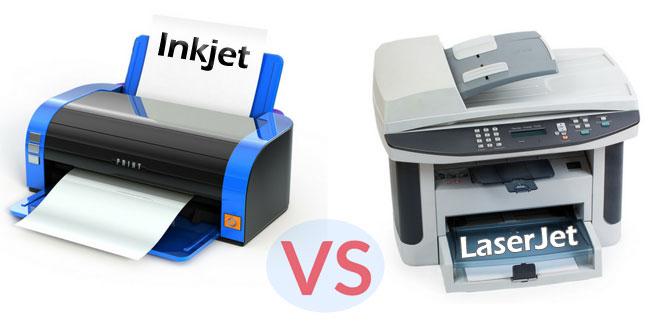 Inkjet vs Laserjet Printers