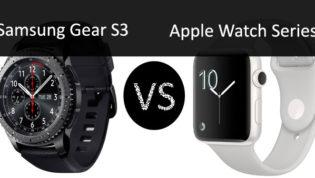 Samsung Gear S3 VS Apple Watch Series 2