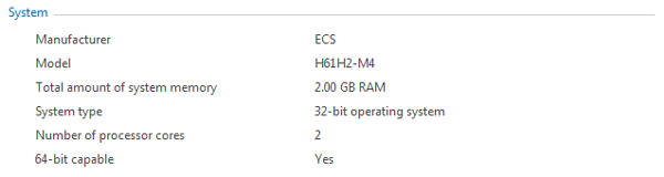 Check if PC 64-bit capable