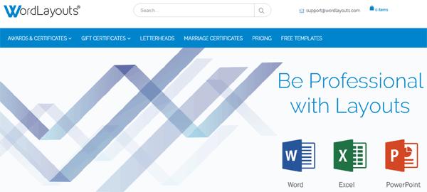 WordLayouts.com